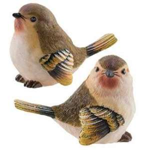 #13080 Large Resin Finch - 2 asst.