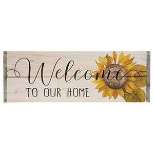 #34211 Welcome of Our Home Sign